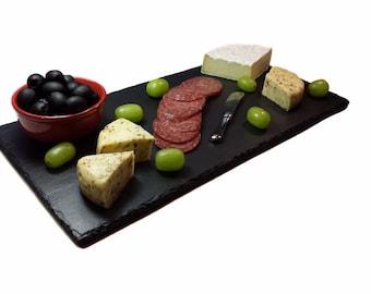 Slate Cheese Board with Gift Box