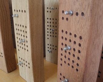 Perpetual calendar wood, wall mount