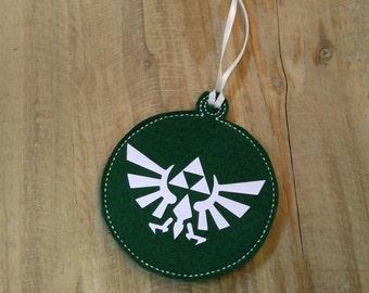 Zelda Triforce Ornament