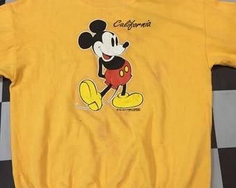 Vintage 80s Mickey Mouse by Velva Sheen