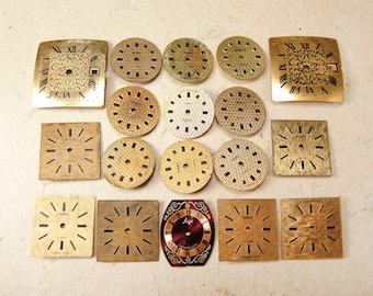 Small Watch Faces - set of 18 - c5