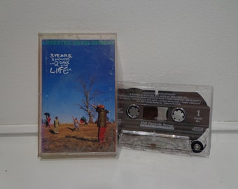 Vintage 1992 Arrested Development 3 Years, 5 Months & 2 Days Cassette Tape Music Album by Chrysalis Records