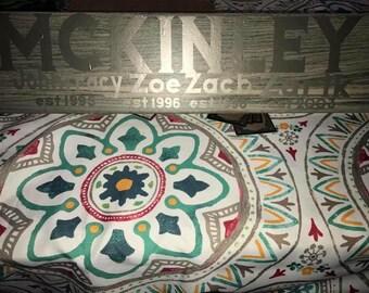 Family established ceramic tile
