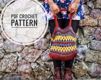 Starburst Tote Crochet Pattern