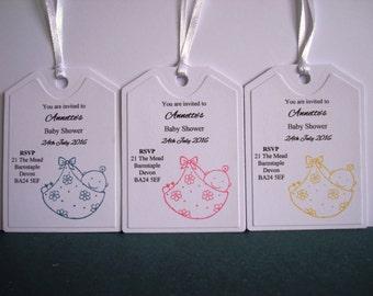 10pk Baby Shower Invites with Envelopes