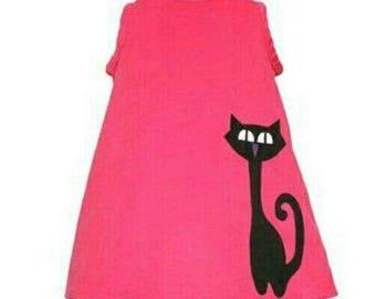 Space Cat dress