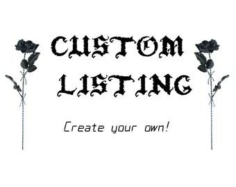 CUSTOM BRA listing, ANY design you like!