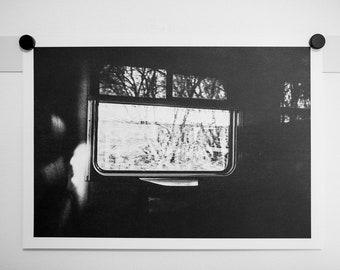 SALE: Wanderlust  - analogue film photography riso print