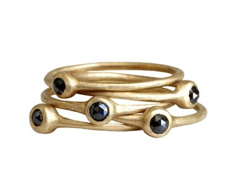 Black diamond stacking rings. Connect the dots. Pie.