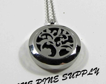 Essential Oil Diffuser Necklace. Necklace for Essential Oil. Essential Oil Necklace. Diffuser Necklace. Tree Necklace. Essential Oil Locket.