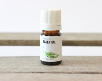 Purifying Blend -Lemongrass, Rosemary, Tea Tree, Myrtle & Citronella Essential Oils. Deodorizing and Refreshening Aromatherapy Essential Oil
