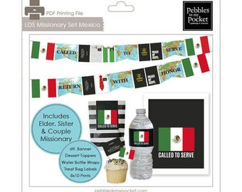 LDS Missionary Set Mexico Digital Download Printables