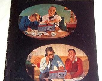 Original Back Issue May 7, 1960 Saturday Evening Post John Falter Art