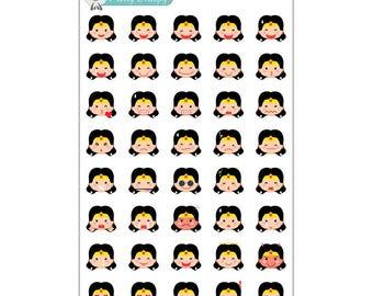 Wonder Woman Emoji Stickers
