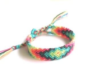 Friendship Bracelet. Pastel Love.
