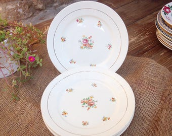Porcelain plates of Grigny Labrut and co., 1942