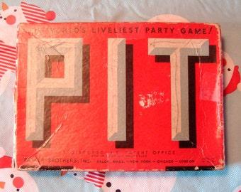 "Antique ""PIT"" game"