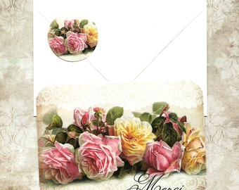 Note Cards, French Style, Merci, Thank you Cards, Thank you