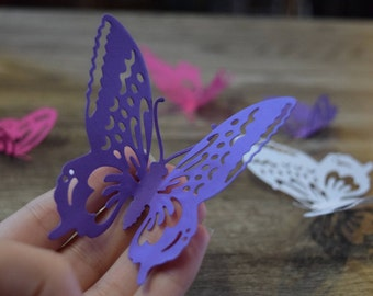 3-D Butterfly Cut Outs
