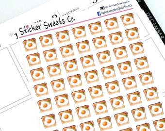Eggs on Toast Planner Stickers