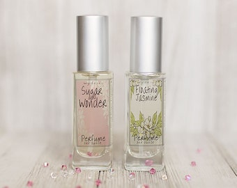 Sugar and Wonder and Floating Jasmine Perfume Duo Special