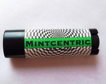 Solid COLOGNE Stick - MINTCENTRIC - cool, crisp scent - .99 shipping