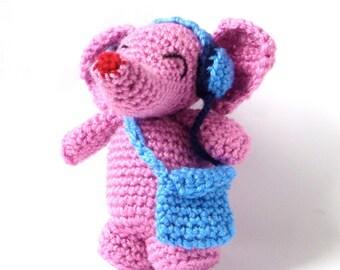 Crochet Amigurumi Elephant Pattern
