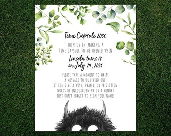 Where the Wild Things Are - Time Capsule Print