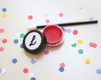 Natural Lipstick- Rosie Red