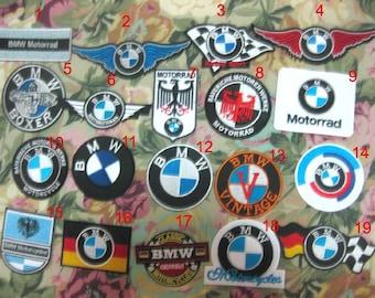 X19 PCS BMW Patch Badge