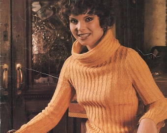 Nielsen, Karen (Designs by) - Women's Sweaters King Knitting Pattern Book 135 (Semi-Precious); Good; USED