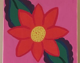 Flower of colors painting
