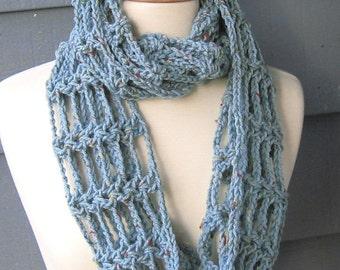 PATTERN S-010 / Crochet Pattern / Toni Infinity ... worsted 175-200 yards