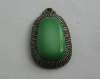 Age old porcelain pendant by ROSENTHAL Selb Bavaria from Germany. Porcelain with tin holder. VINTAGE