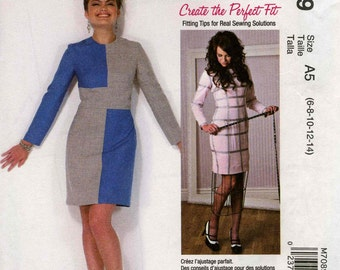 McCall's M7089 Create the Perfect Fit Size A5 (6-8-10-12-14)