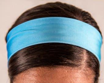 Washed Up Blue Regular Headband