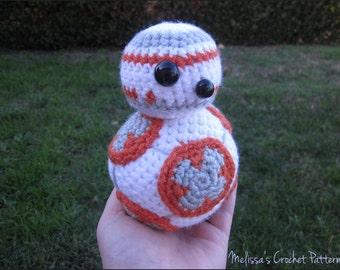 Crochet Pattern - BB-8 from Star Wars
