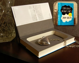 Hollow Book Safe - The Fault in Our Stars - Secret Book Safe