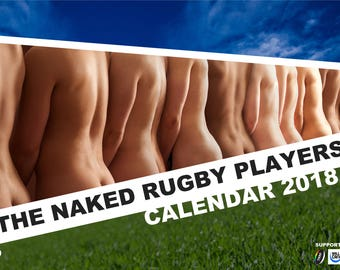 The Naked Rugby Players Calendar 2018