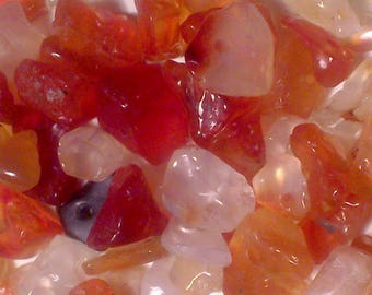 125 stone chips Fire Agate