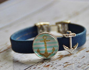 Cork bracelet and Anchor Cork bracelet