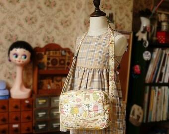 Japanese Original Handamde Shoulder Messenger Bag for girl and kids
