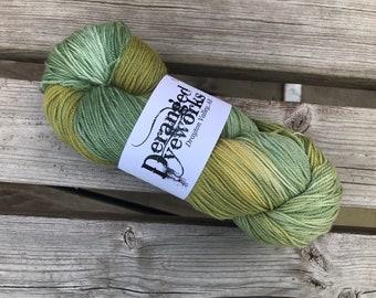 OOAK - Hand Dyed Yarn - SW Merino Wool/Nylon (80/20) Fingering/Sock Weight