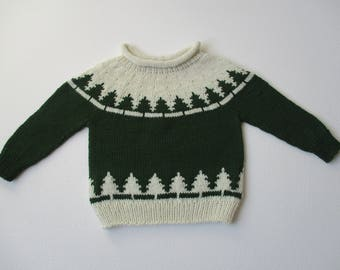 Nordic Sweater for Baby