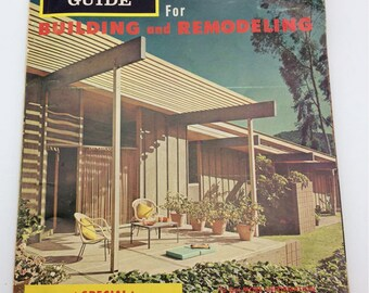 Building Products Guide Catalog Magazine 1965