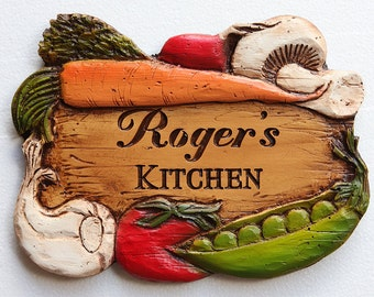 Personalized Kitchen Decor Sign