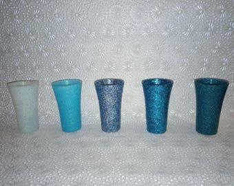 Glittered Shot Glasses