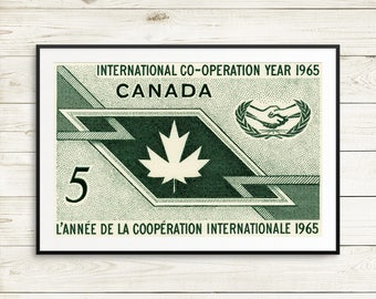 canada wall art, canada posters, vintage canada, canada decor, canada man cave, canadian cottage, canadian history, canada poster, art print