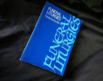 Funeral Liturgies Book RARE