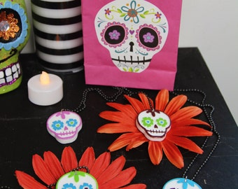 Coco Day of the Dead Sugar Skull candy necklace